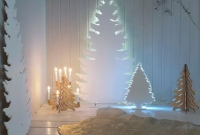 Easy And Creative DIY Christmas Tree Design Ideas You Can Try As Alternatives 12