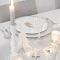 Elegant White Vintage Christmas Decoration Ideas 30