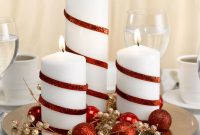 Inspiring Modern Rustic Christmas Centerpieces Ideas With Candles 74