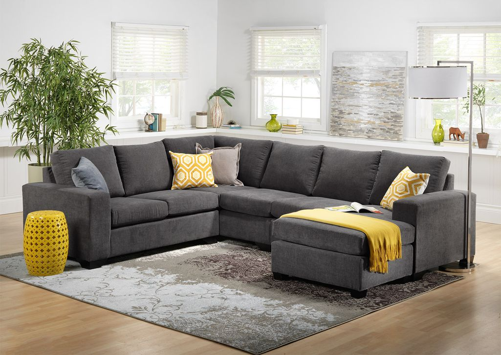 Totally Outstanding Sectional Sofa Decoration Ideas With Lamps 96