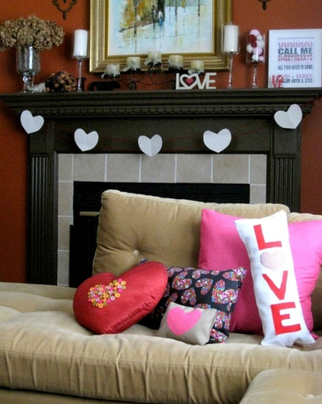 Living Room Decoration Ideas For Valentines Day 15