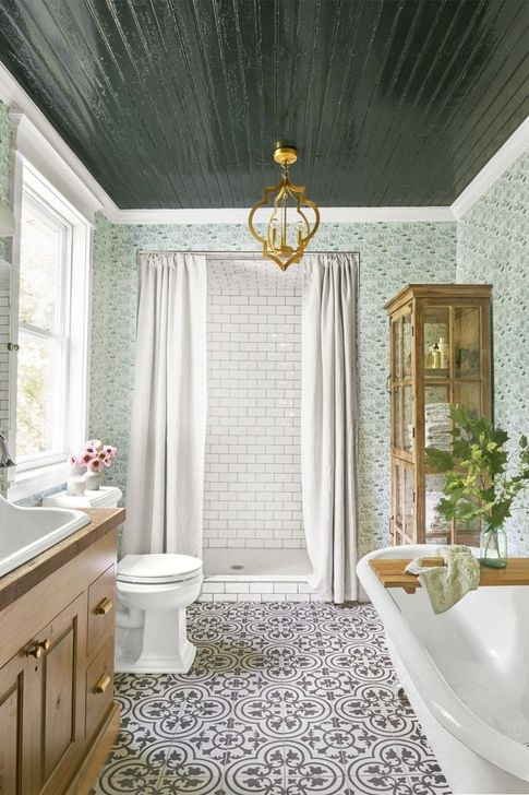 Best Modern Farmhouse Bathroom Decor Ideas 10
