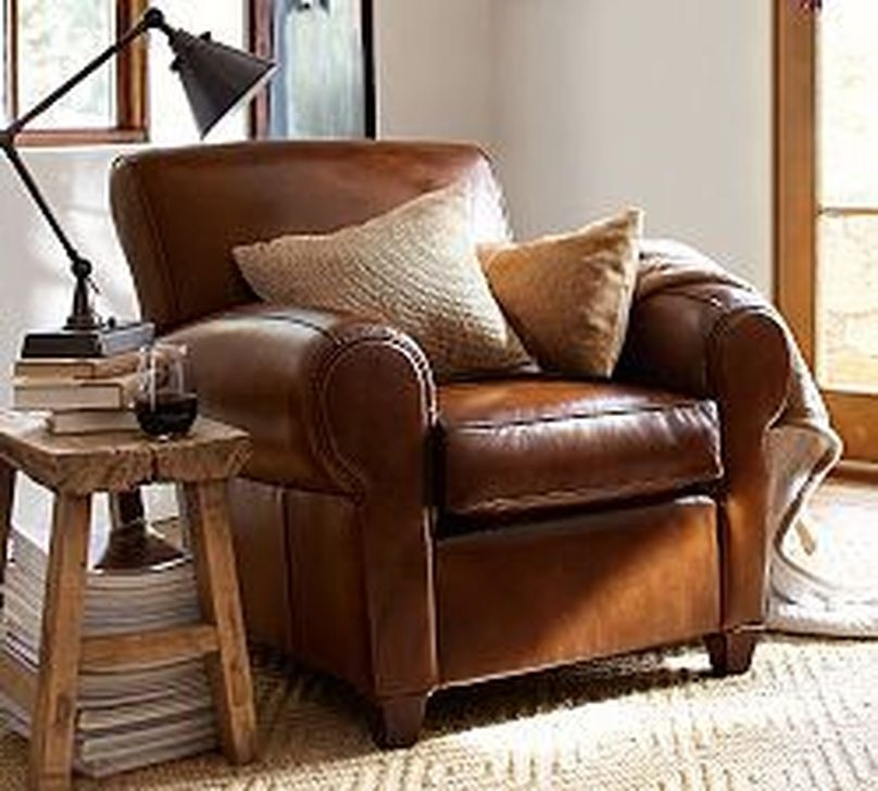 Fancy Leather Living Room Furniture Design Ideas 04