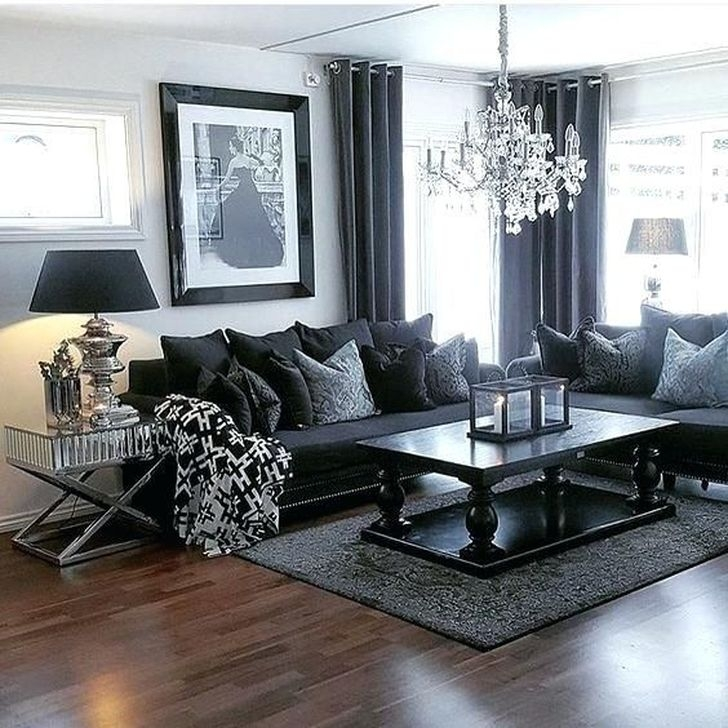 Fancy Leather Living Room Furniture Design Ideas 27