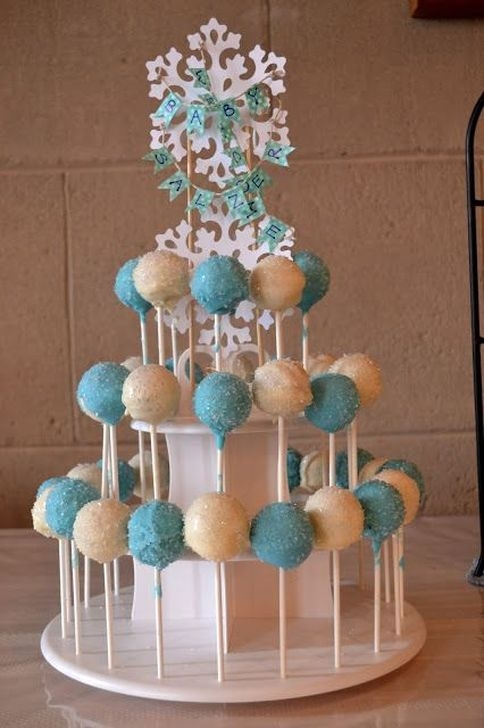 Charming Winter Themed Baby Shower Decoration Ideas03