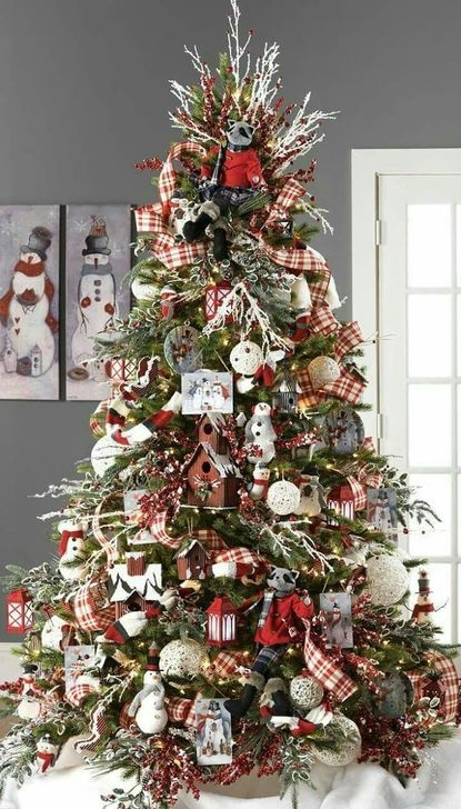 Gorgeous Rustic Christmas Tree Decoration Ideas08