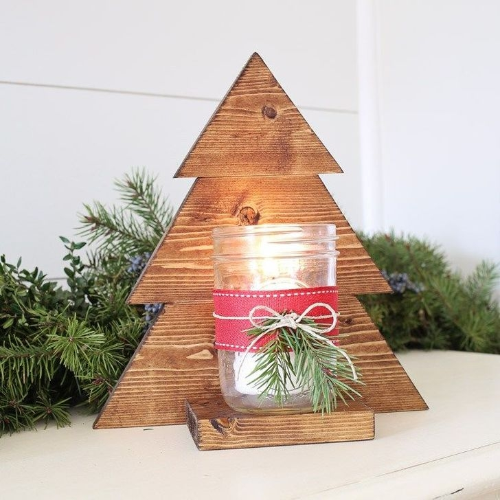 Gorgeous Rustic Christmas Tree Decoration Ideas39