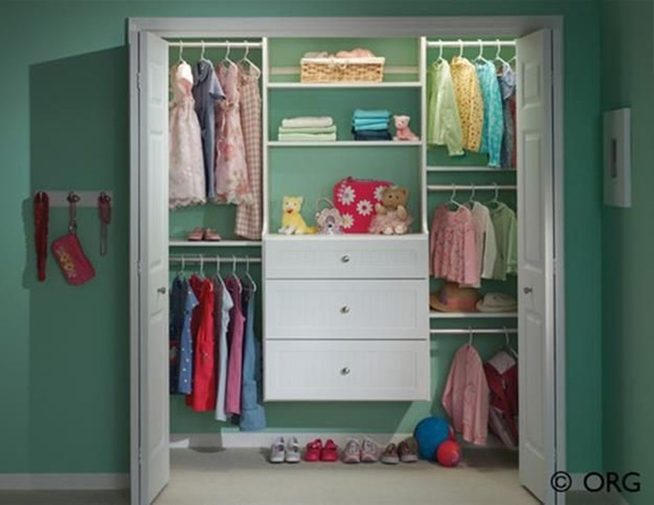 Magnificient Kids Closet Organization Ideas41