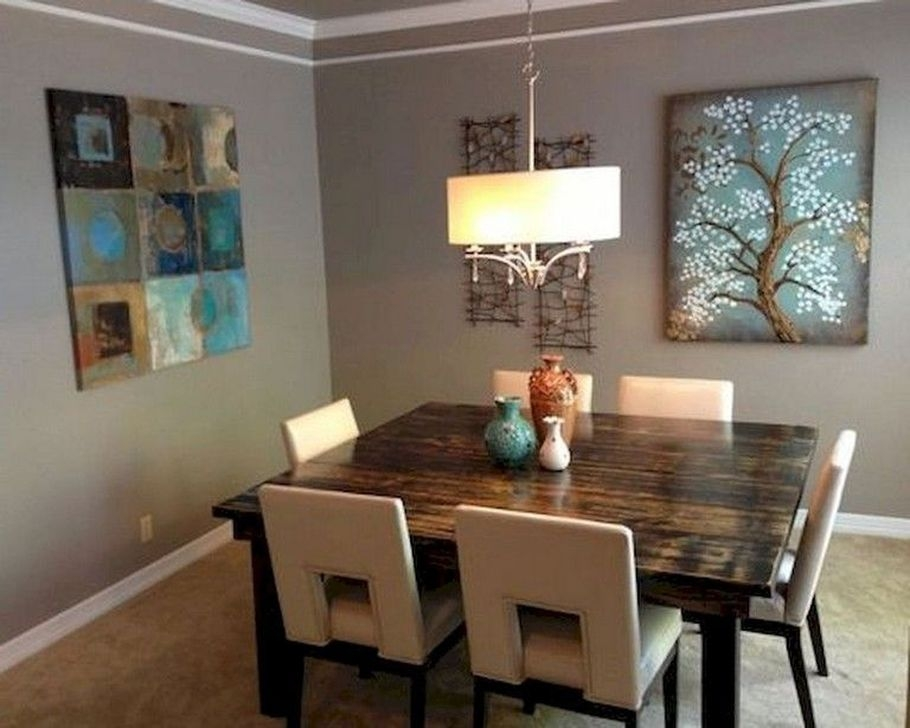 captivating dining room lighting | 99 Captivating Farmhouse Dining Room Table Decorating ...