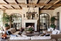 Adorable French Country Living Room Ideas On A Budget 43