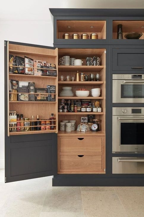 Pretty Hidden Storage Ideas For Kitchen Decor 08