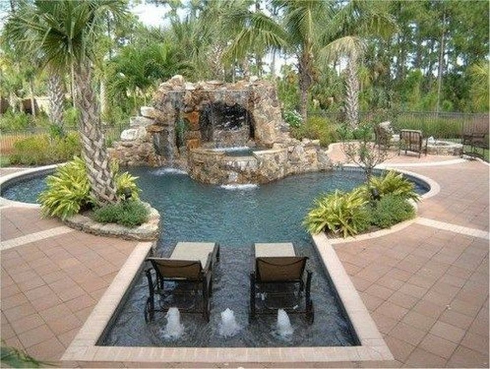 99 Comfy Backyard Designs Ideas With Swimming Pool Looks ...