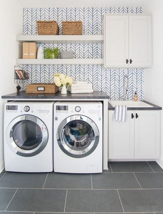 Fancy Laundry Room Layout Ideas For The Perfect Home 34