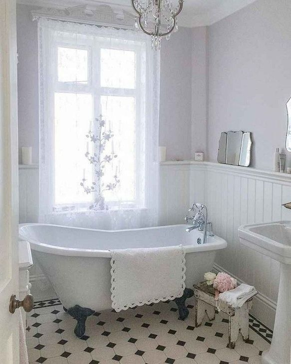 Lovely Farmhouse Bathroom Makeover Ideas To Try Right Now 17