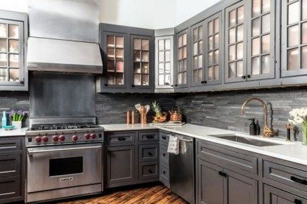Hottest Copper Rose Gold Kitchen Themes Decorations Ideas 33