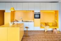 Splendid Kitchen Designs Ideas With Tones Of Vibrant Colors 41