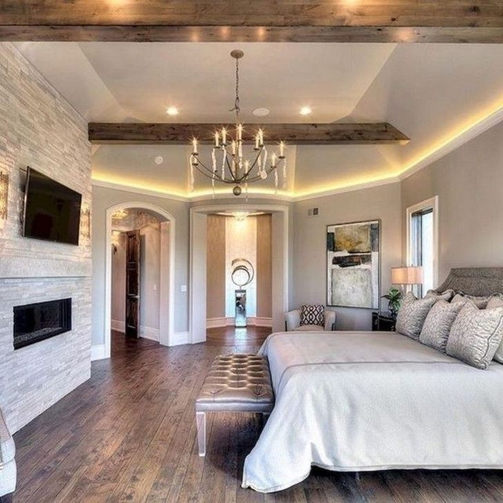 Trendy Farmhouse Master Bedroom Design Ideas 23
